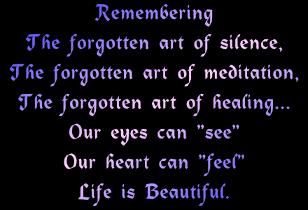 forgotten art of healing