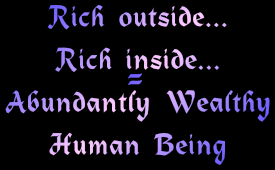 abundantly wealthy human being